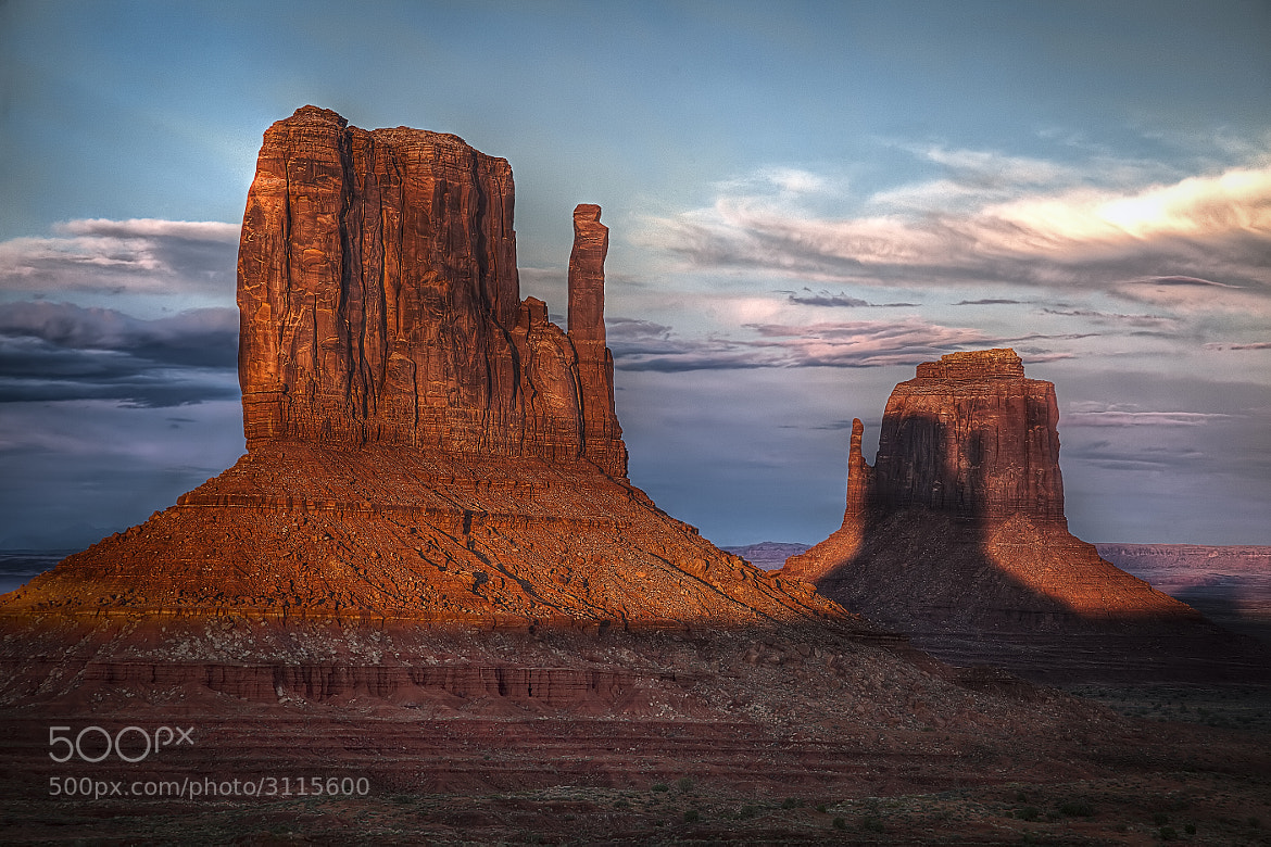 Photograph Shadow of the Mitten by Robert Arrington on 500px