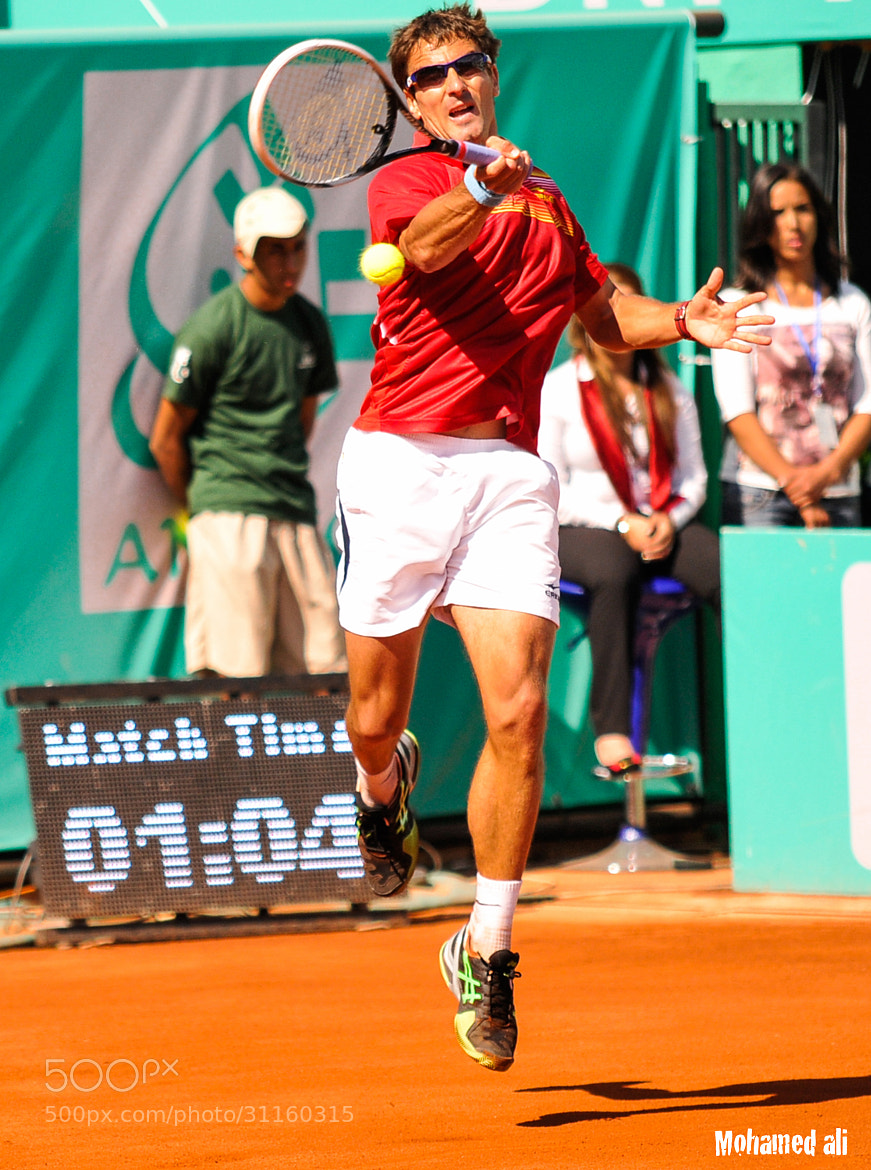Photograph Tennis man Tommy ROBREDO by Mohamed Ali Lyamani on 500px