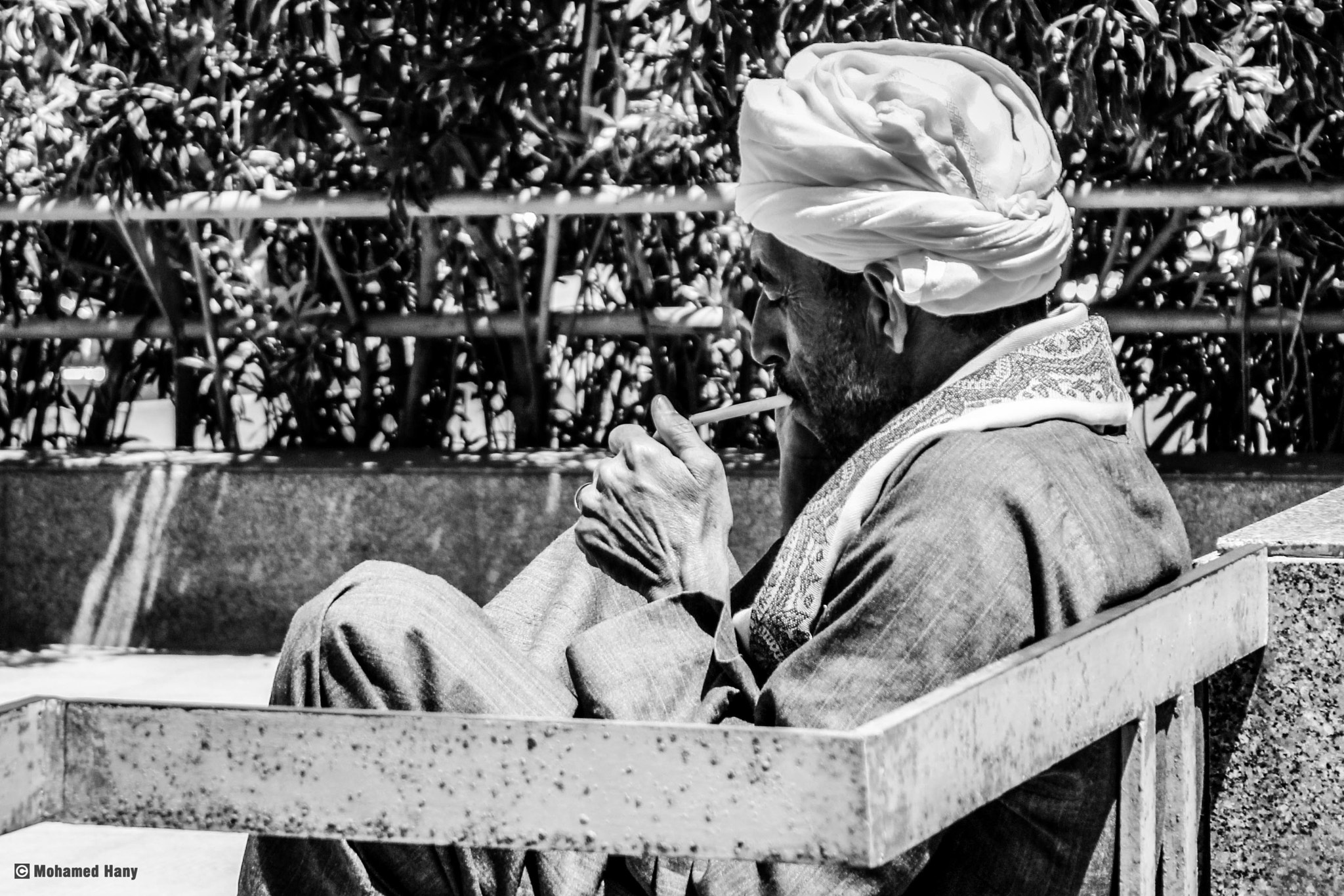Photograph Upper Egyptian Smoking by Mohamed Hany on 500px