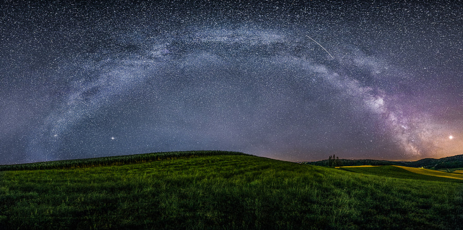 Milkyway panorama by Sandro Rizzolo on 500px.com