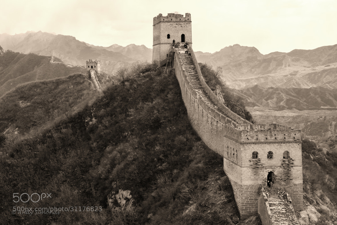 Photograph Great Wall - Jinshanling by Andy Simonds on 500px