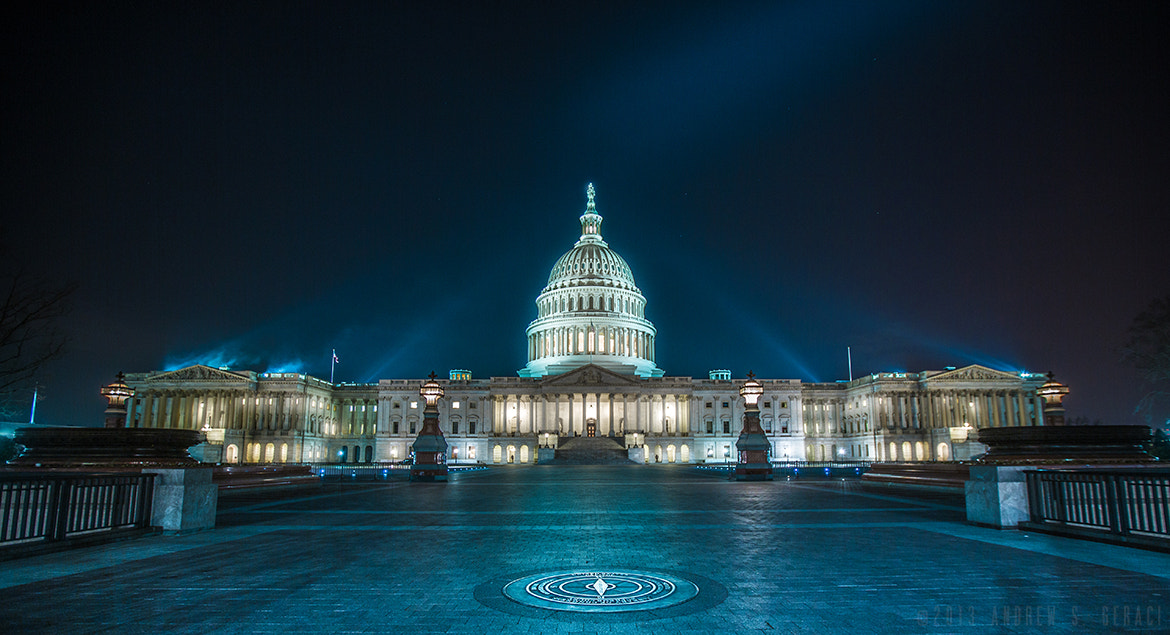 Photograph A Dark Capitol  by Drew Geraci on 500px
