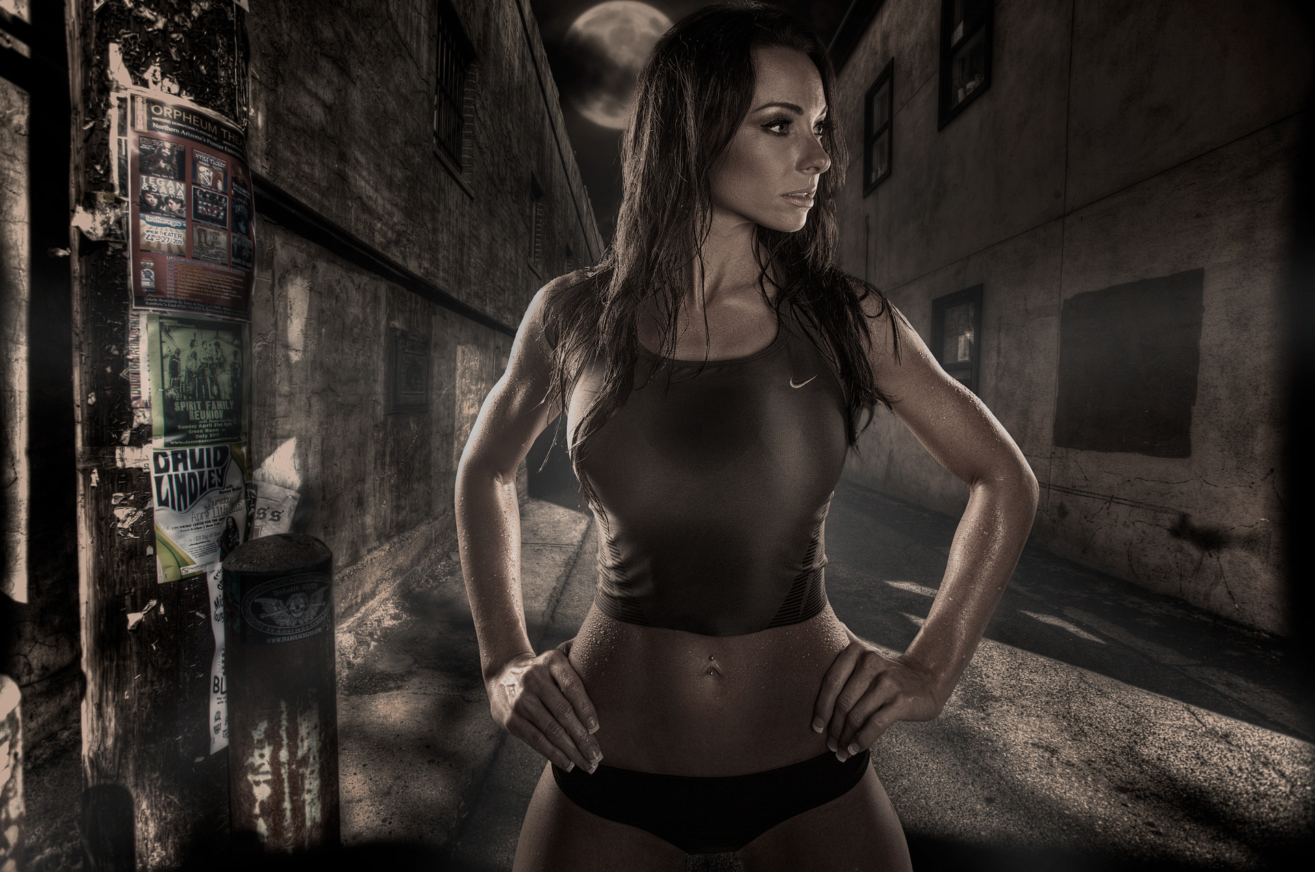 Photograph Alley Fitness by Tony Mandarich on 500px