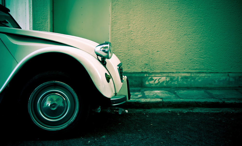 Photograph the white citroën by Faisal Sultan on 500px