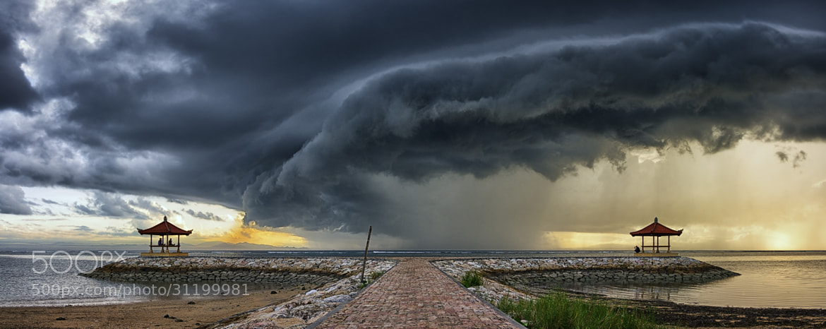 Photograph Scary Cloud above Karang Beach by Eggy Sayoga on 500px
