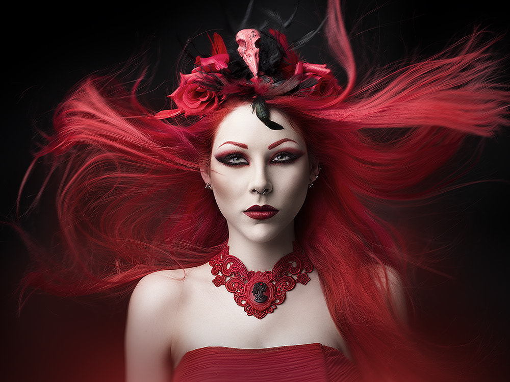 Photograph Red Desire by Rebeca  Saray on 500px