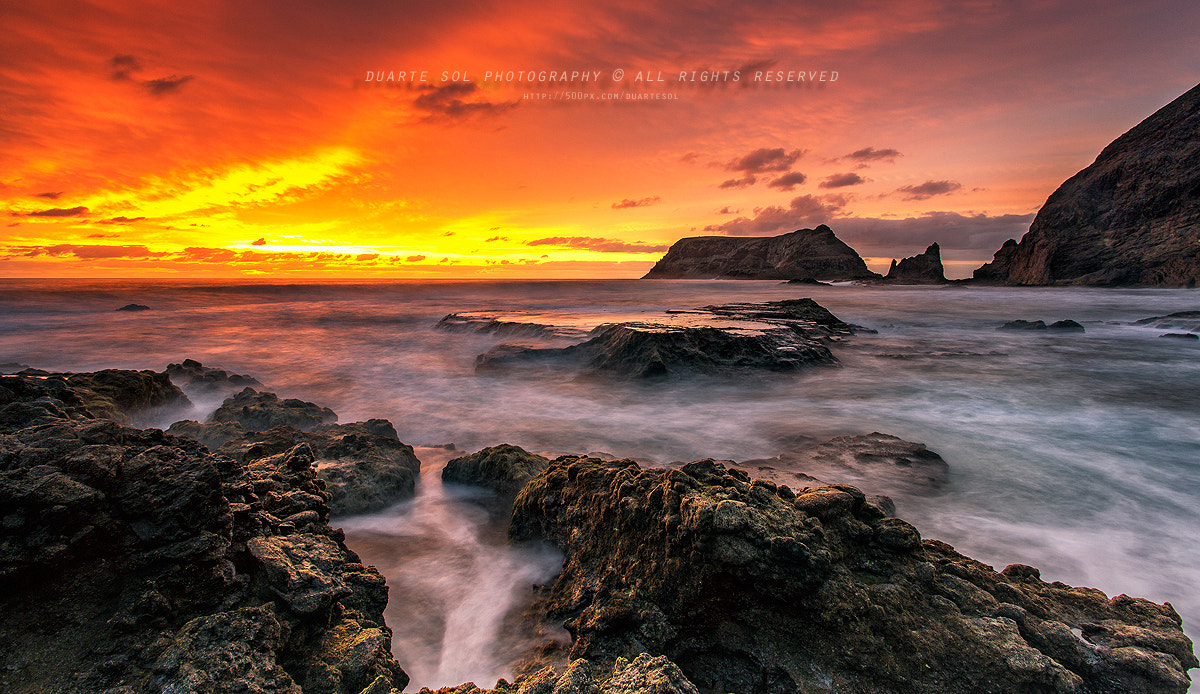 Photograph Waves of Fire by Duarte Sol on 500px