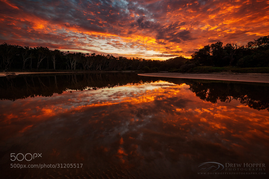 Photograph Fire In The Sky by Drew Hopper on 500px