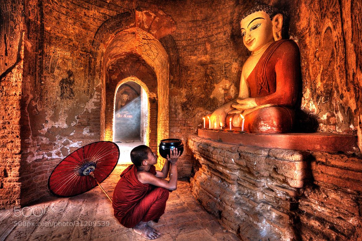 Photograph The little buddha by Puchong Pannoi on 500px