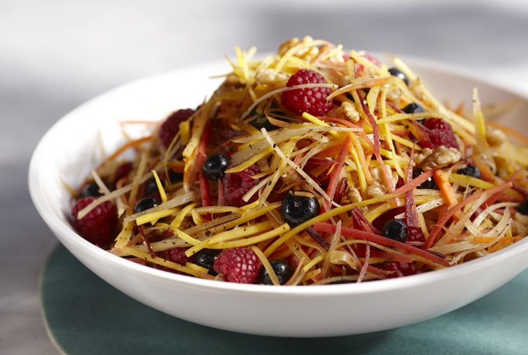 Photograph Driscoll's® Carrot Berry Salad by Driscoll's Berries on 500px