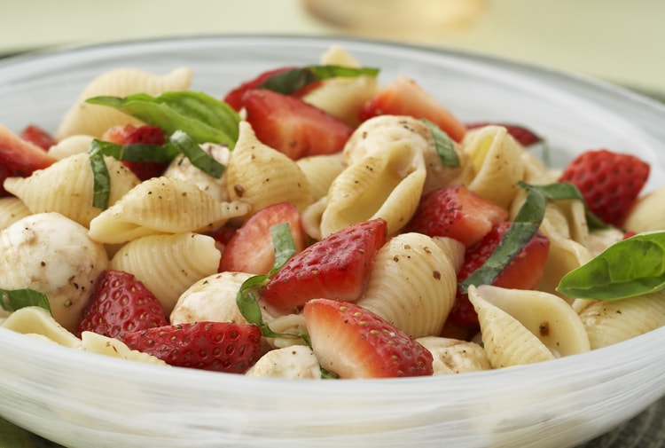 Photograph Driscoll's® Strawberry Caprese Pasta Salad  by Driscoll's Berries on 500px