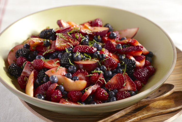 Photograph Driscoll's® Spicy Summer Fruit Salad by Driscoll's Berries on 500px