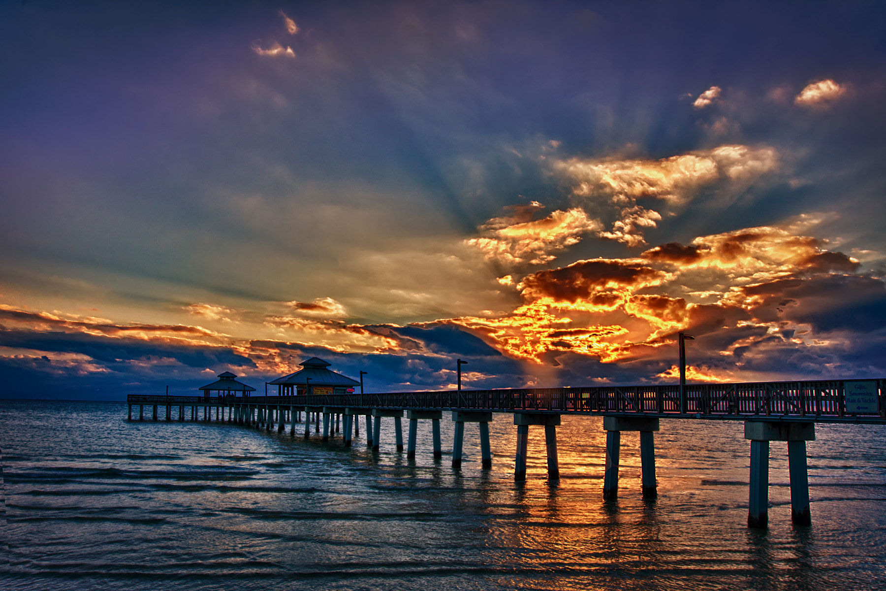 Photograph Sunset on the Gulf by Scott Evers on 500px