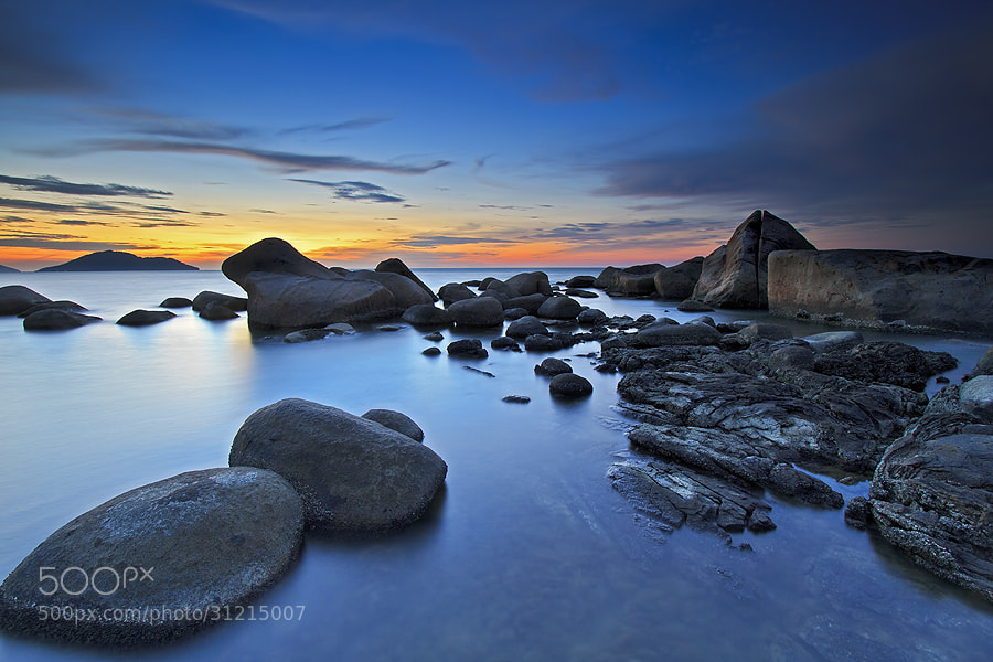 Photograph Calming Blue by Erwin Julian Lie on 500px