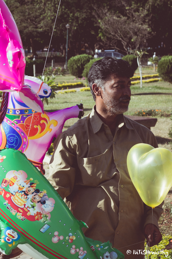 Photograph The Balloon Seller by Nitish Murthy on 500px
