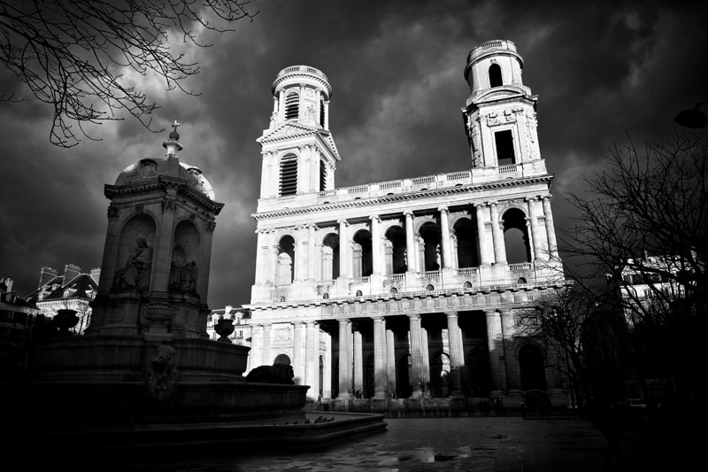 Photograph Saint Sulpice et l'orage by patrick plazzi on 500px