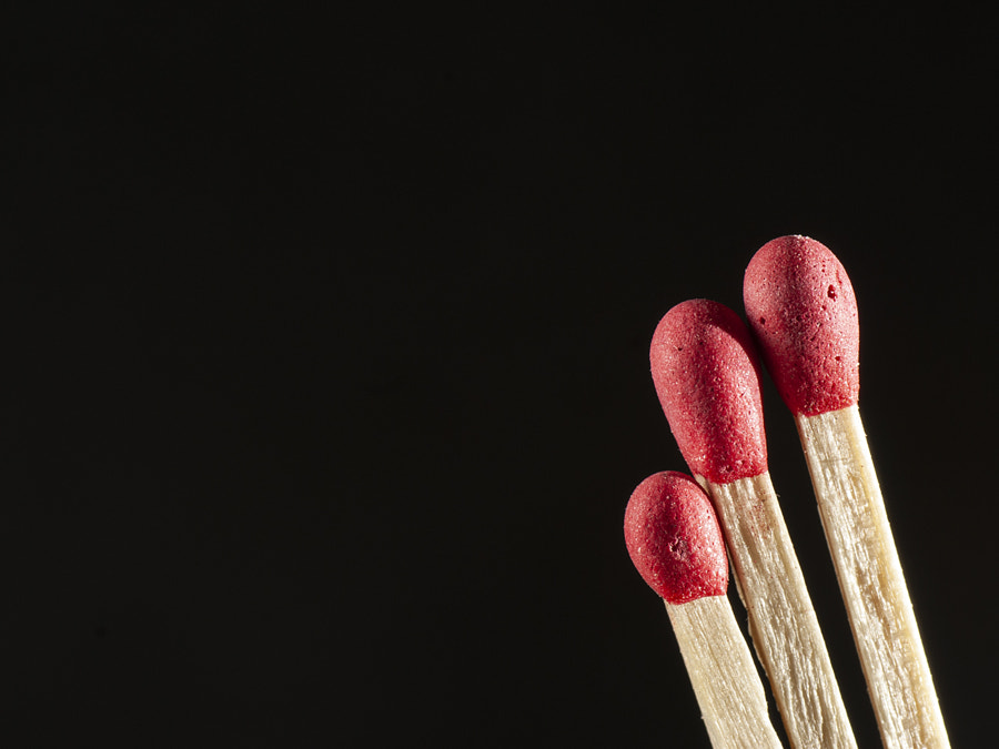 Three matches by Ana V. on 500px.com
