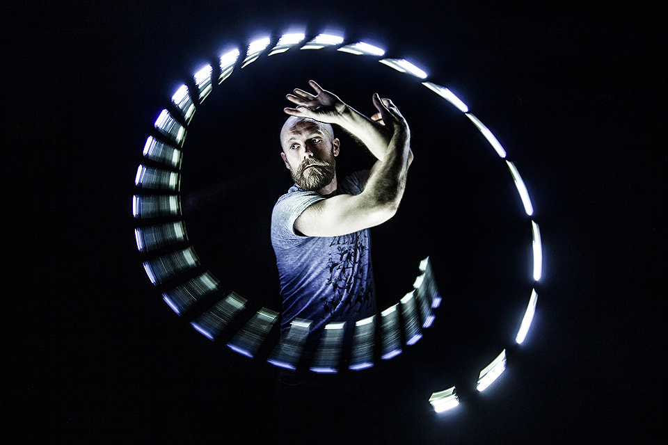 Photograph Light-painting in Montréal: LightSpin with Michael Watts by Eric  Paré on 500px