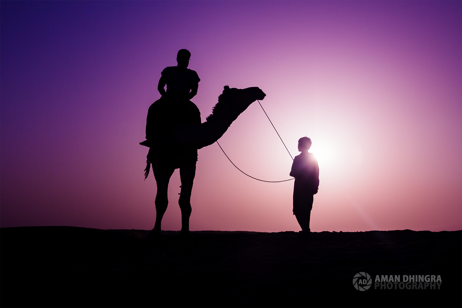 Photograph Lost in the Desert by Aman Dhingra on 500px