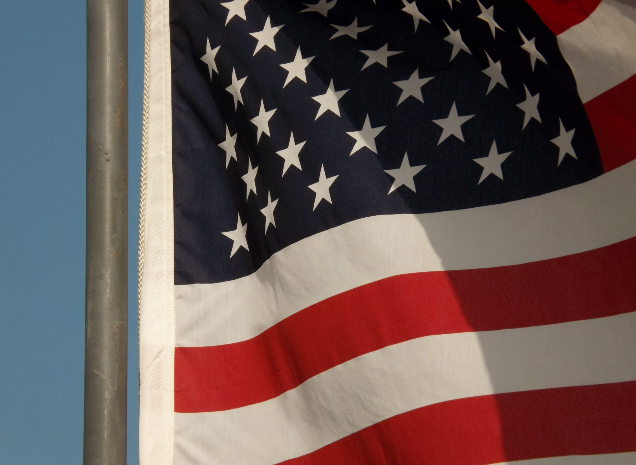 Photograph U.S. Flag waves 3 by Shirley Johnson on 500px