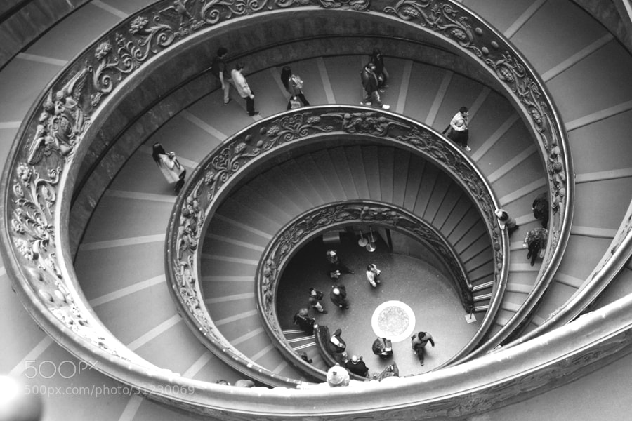 Photograph Vatican museum by Bożena Pazgan on 500px