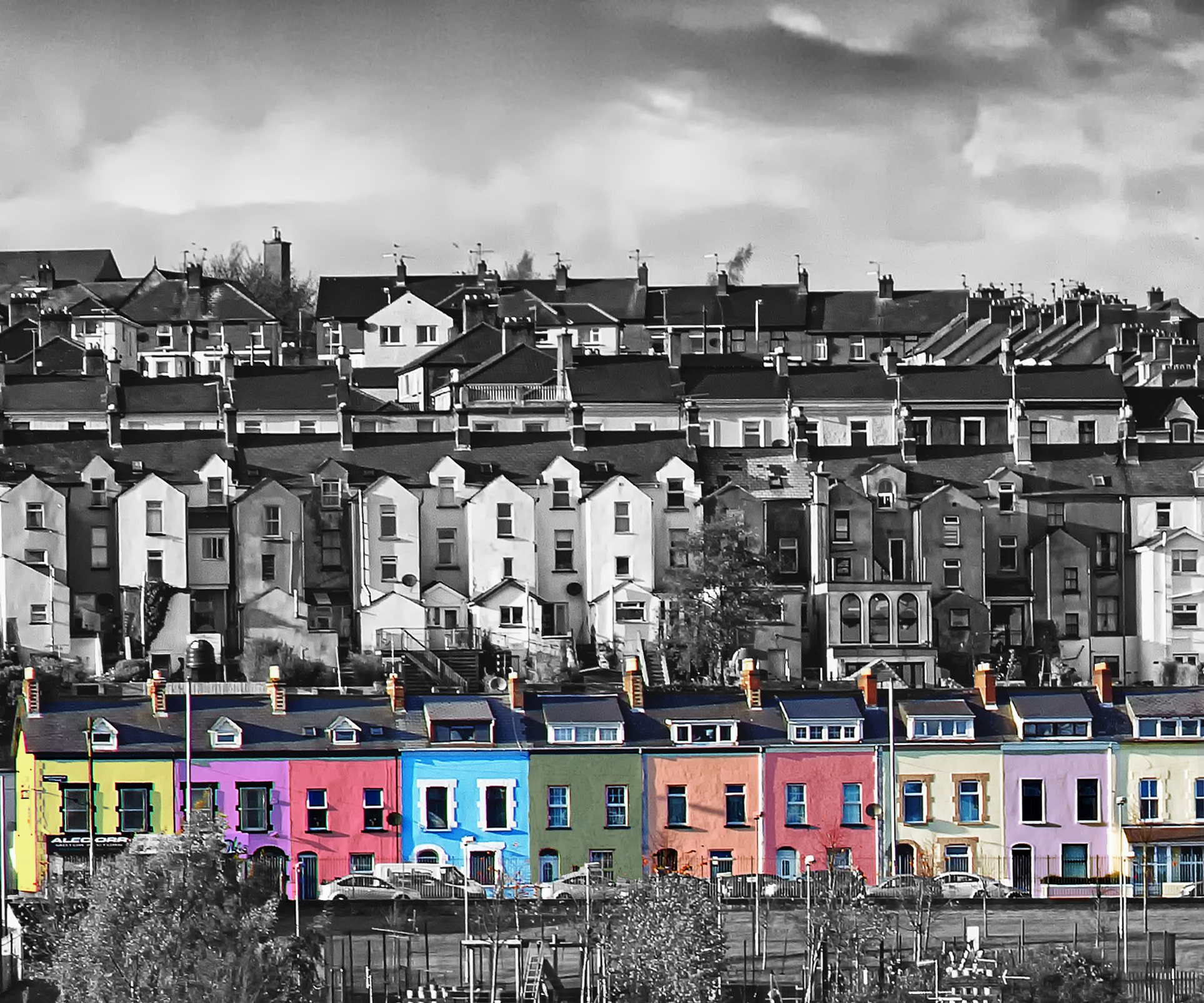 Photograph The Colourful Bogside by KERRY ODONNELL on 500px