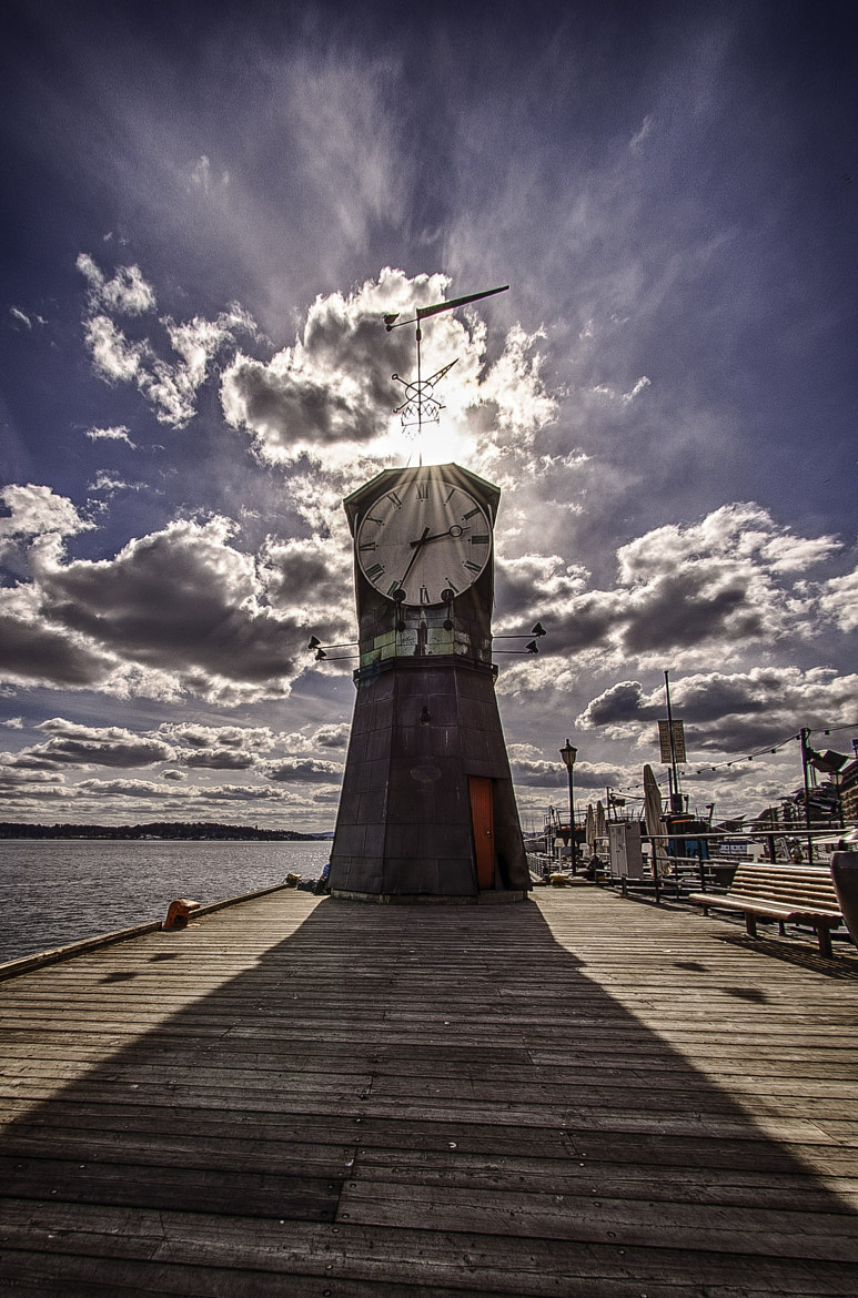 Photograph Haker Brygge Clock by Alain Barbezat on 500px