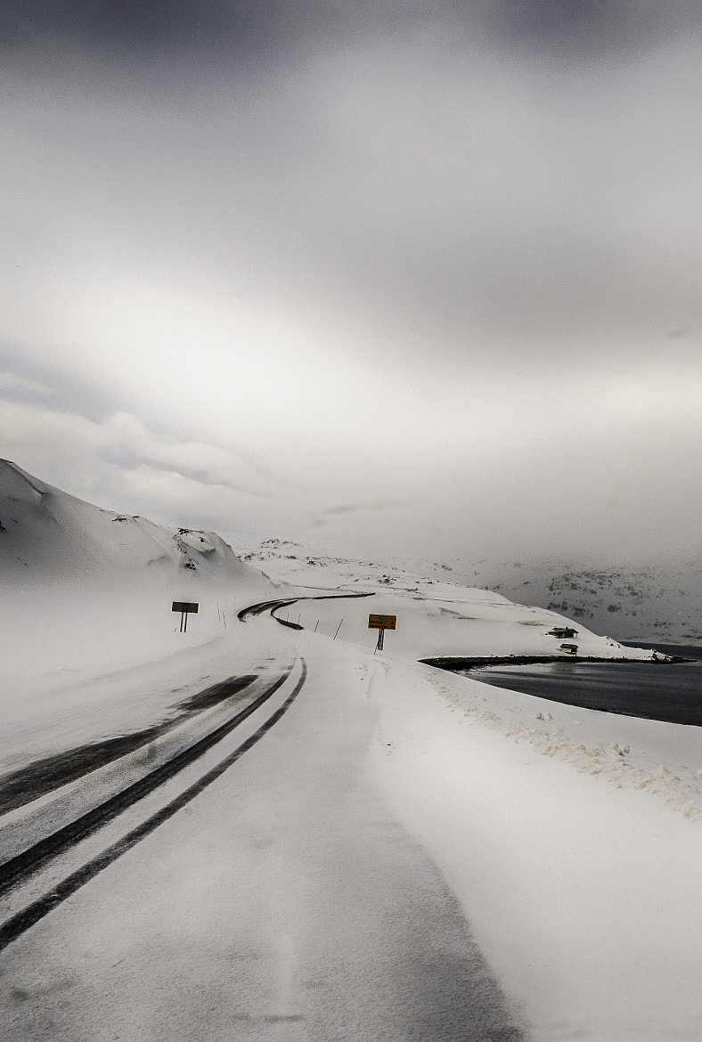 Photograph Road to the end of the world by Alain Barbezat on 500px