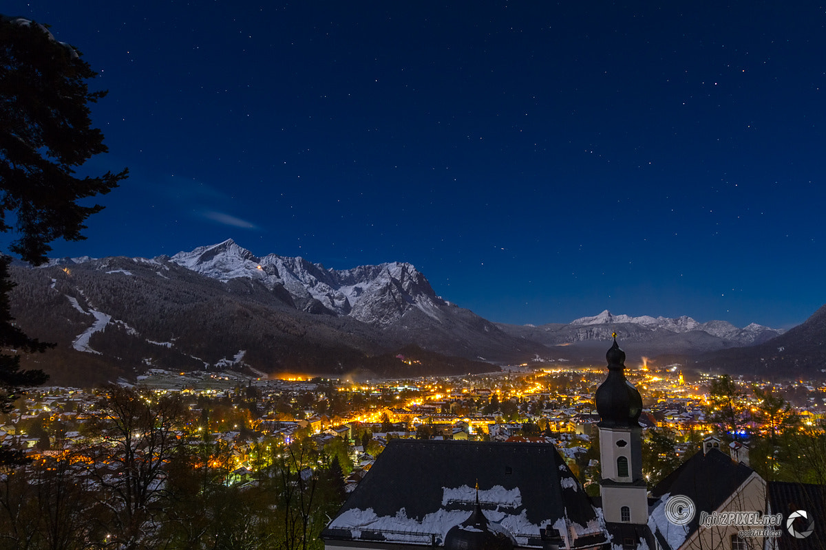 Photograph GAP by Night by Marc A. Hohenleitner on 500px