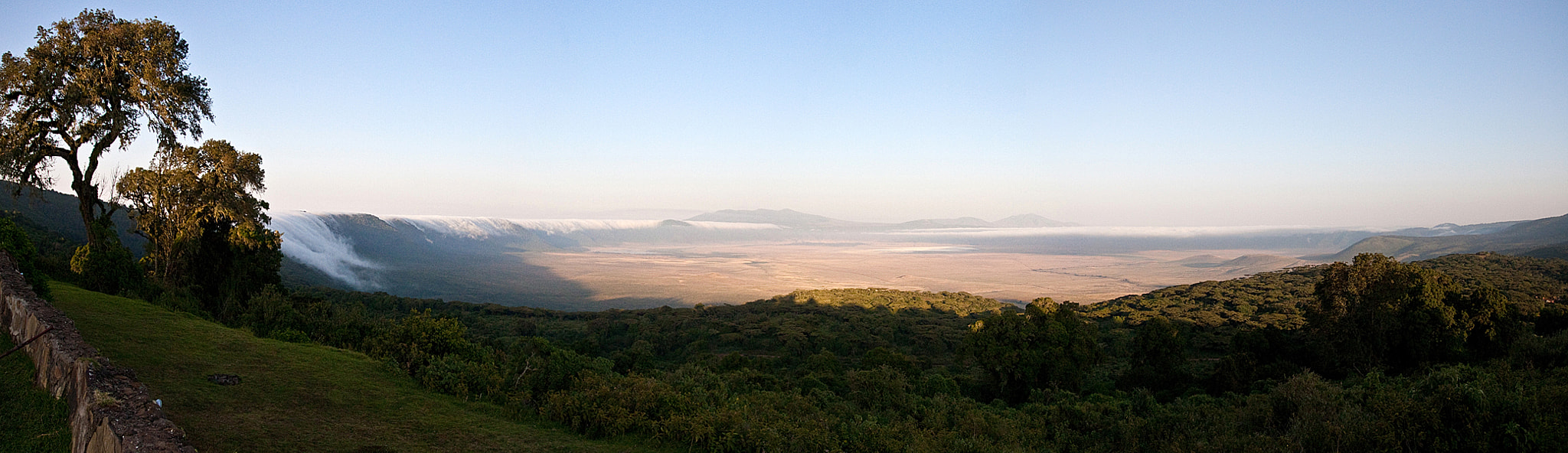 Photograph Ngorongoro crater at dawn, panorama by Jochen Van de Perre on 500px