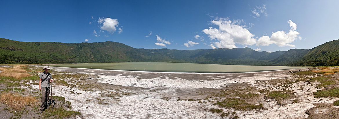 Photograph Empakai crater panorama by Jochen Van de Perre on 500px