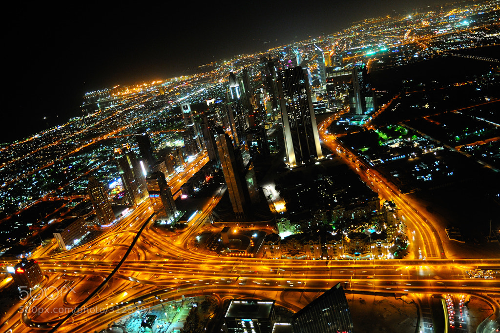 Photograph Dubai by night... by Almqvist Photo on 500px