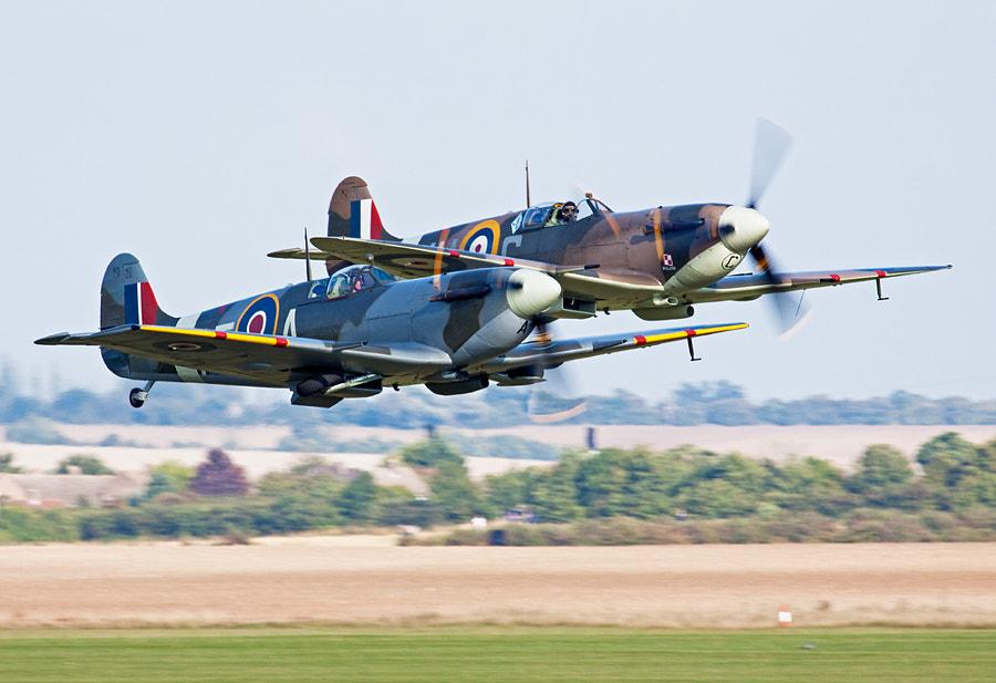 Spitfire Takeoff