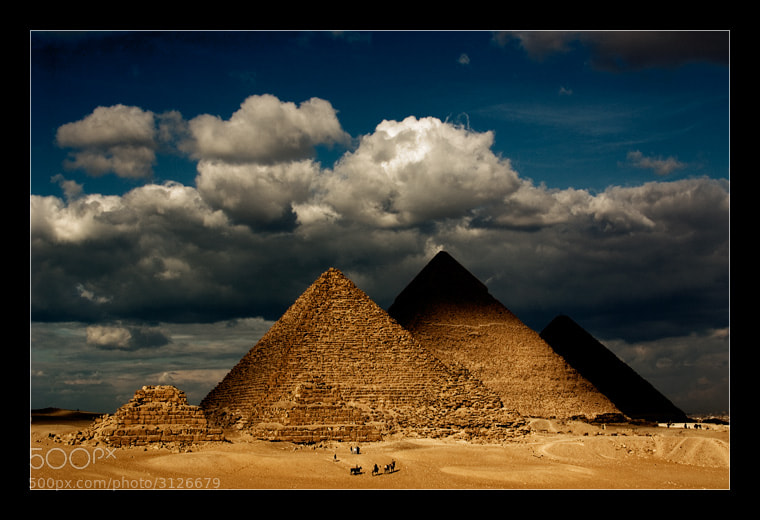 Photograph Pyramids by Hani Alghayhab on 500px