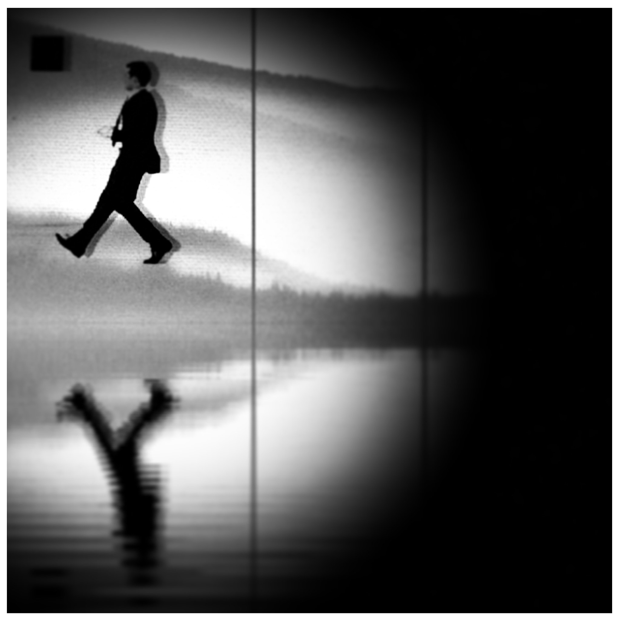Photograph Man on the run  by lydia davison whitcomb on 500px