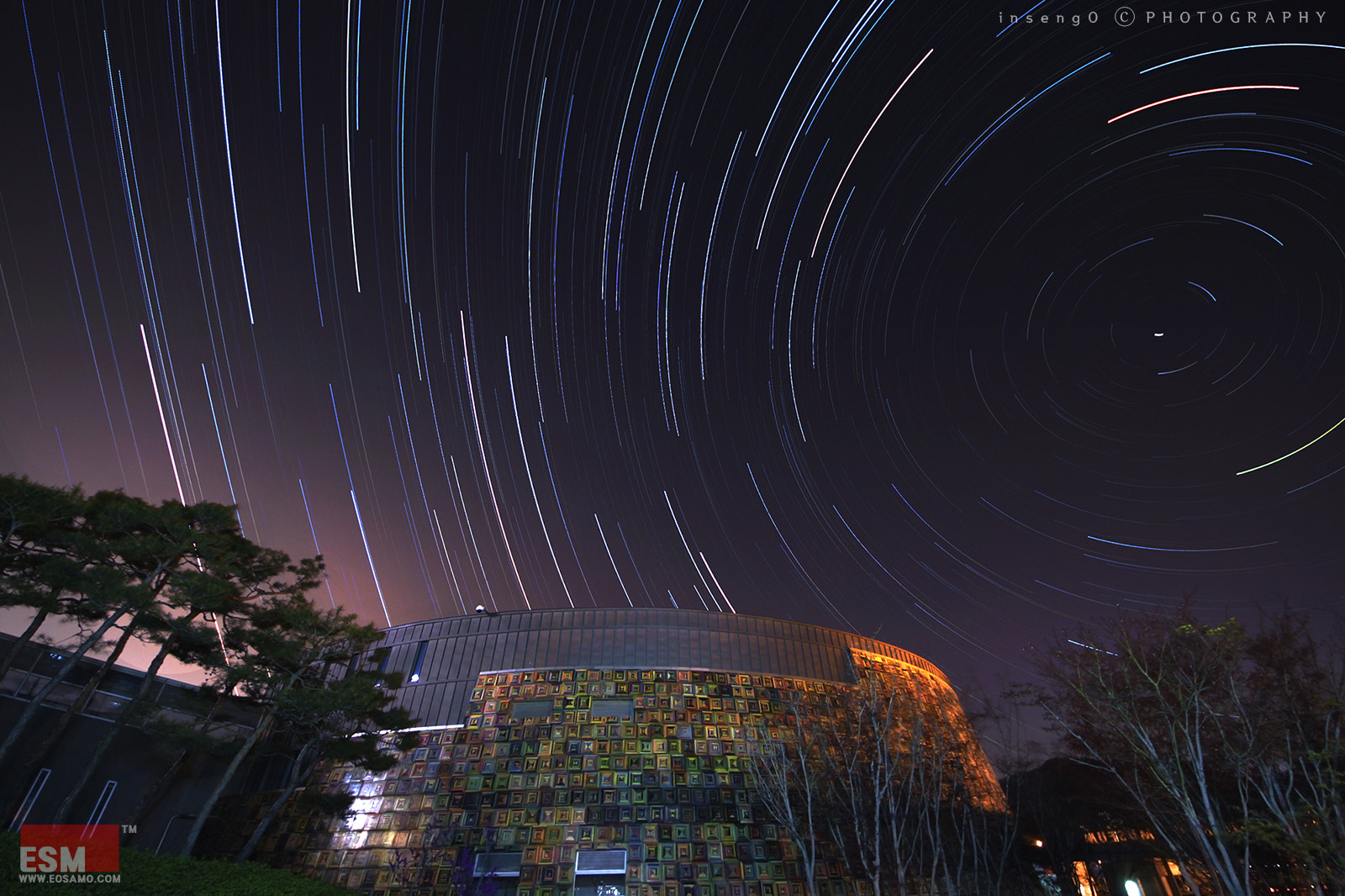 Photograph Startrails at Clayarch II by chan-wook Kim on 500px