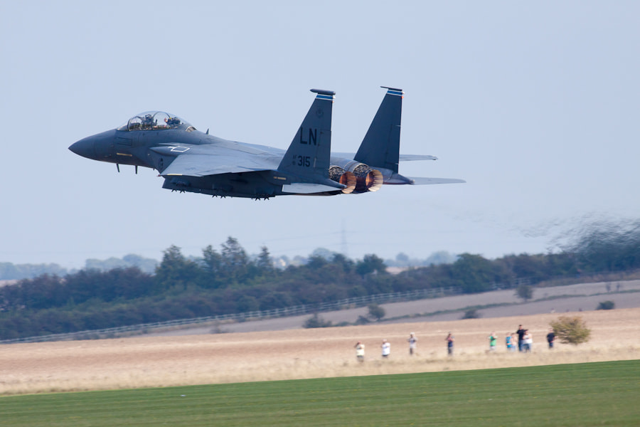 F15 at Duxford
