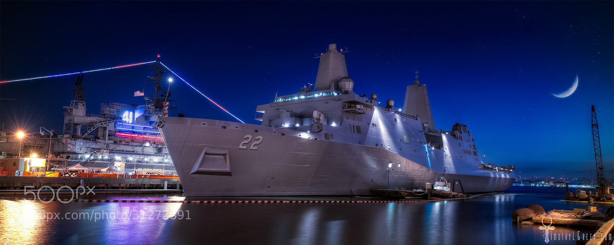 Photograph USS San Diego by Timothy Green on 500px