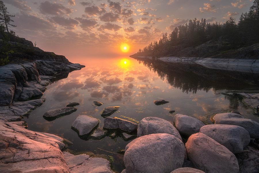 Утро на Ладоге by Andrew Bazanov