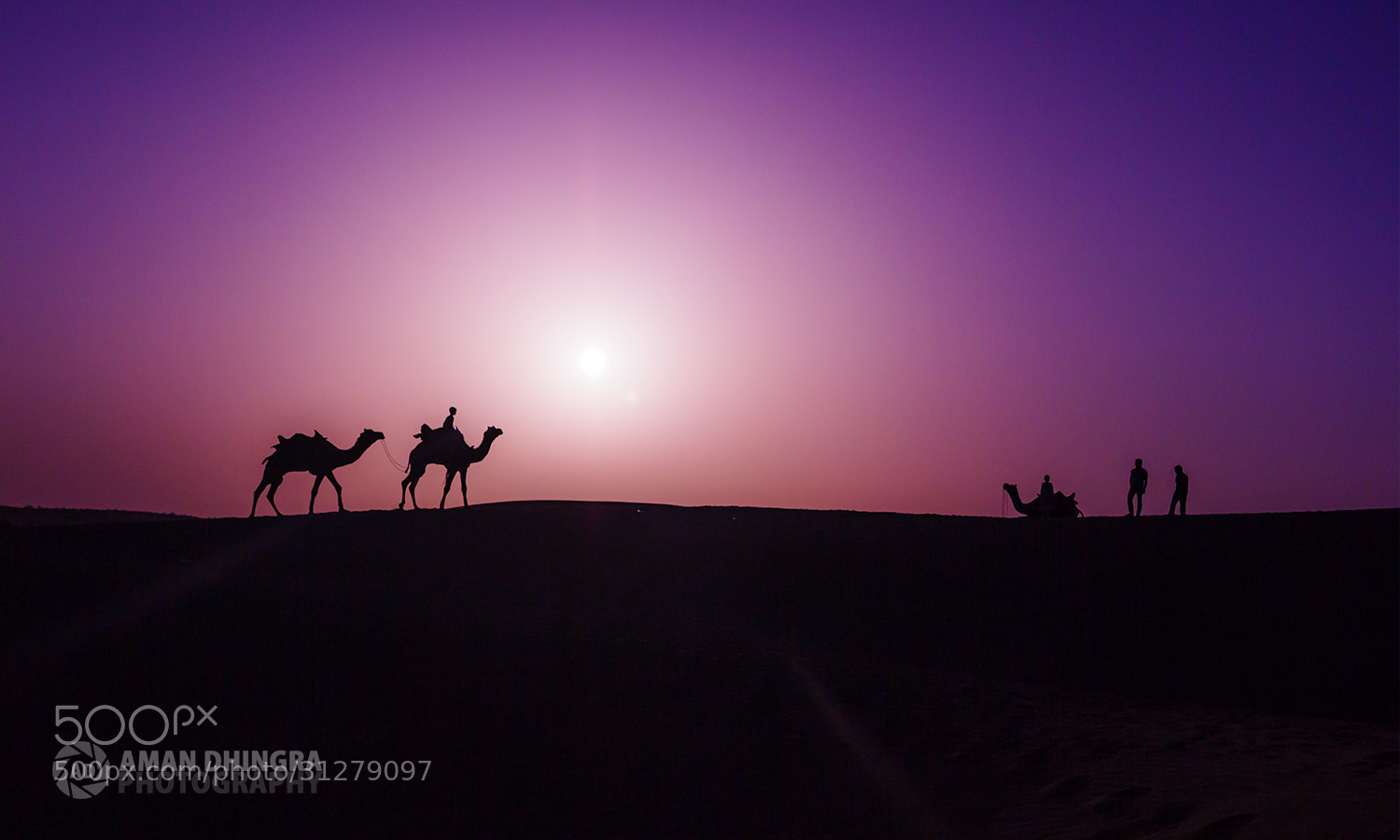 Photograph Lost in the Desert 2 by Aman Dhingra on 500px