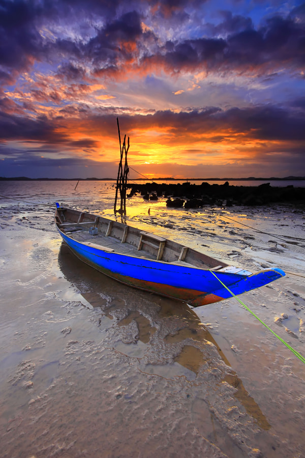 Photograph Indonesia Boat by Danis Suma Wijaya on 500px