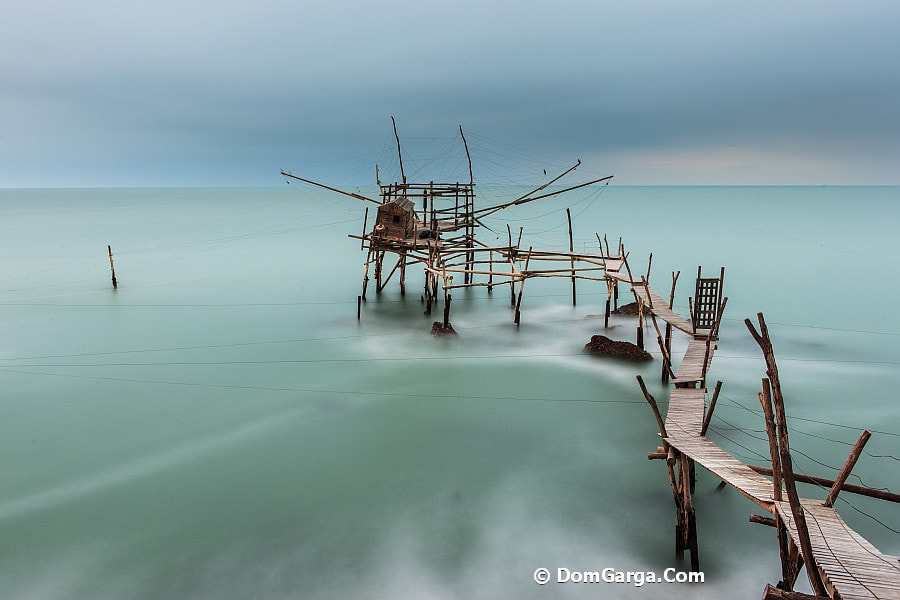 Photograph Trabocco Turchino Early Morning by Domenico Gargarella on 500px
