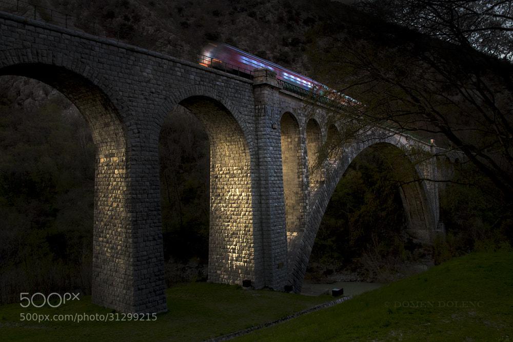 Photograph Solkan bridge by Domen  Dolenc on 500px