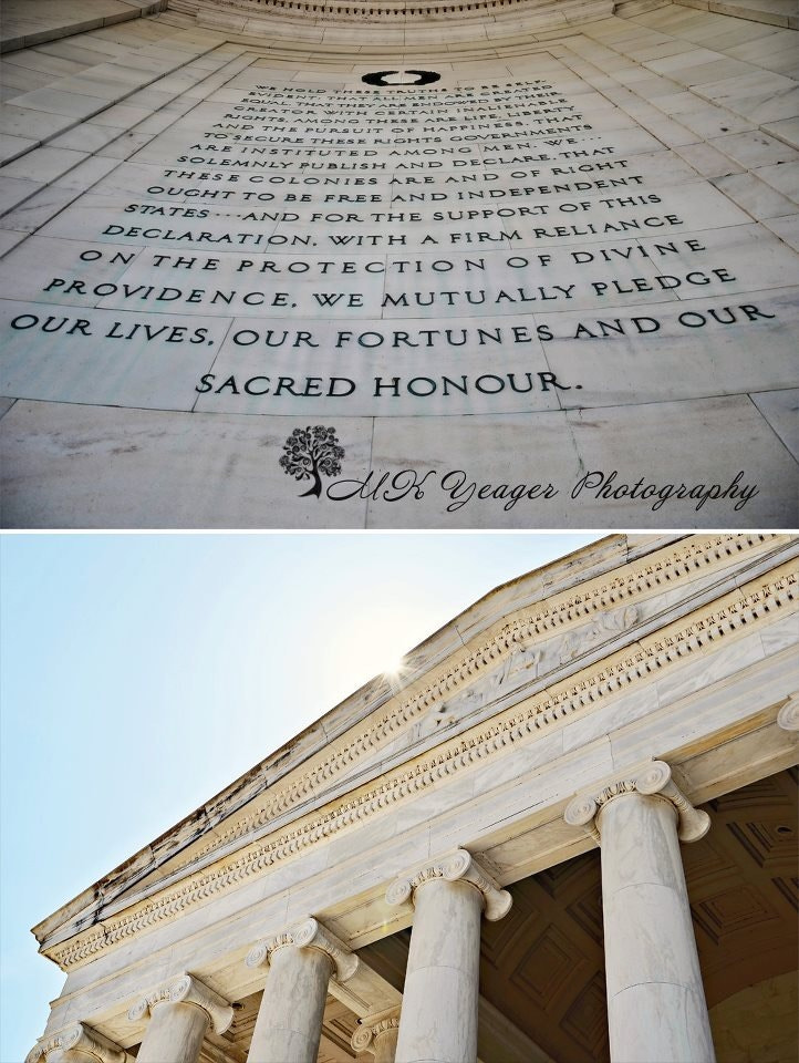 Photograph Jefferson Memorial by Michelle Yeager on 500px