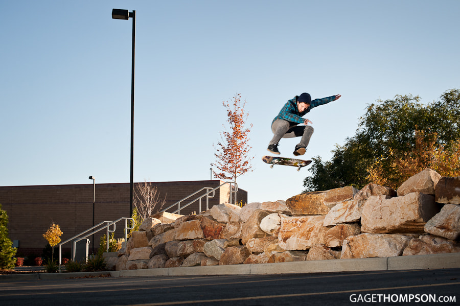 Photograph Switch Heelflip by Gage Thompson on 500px