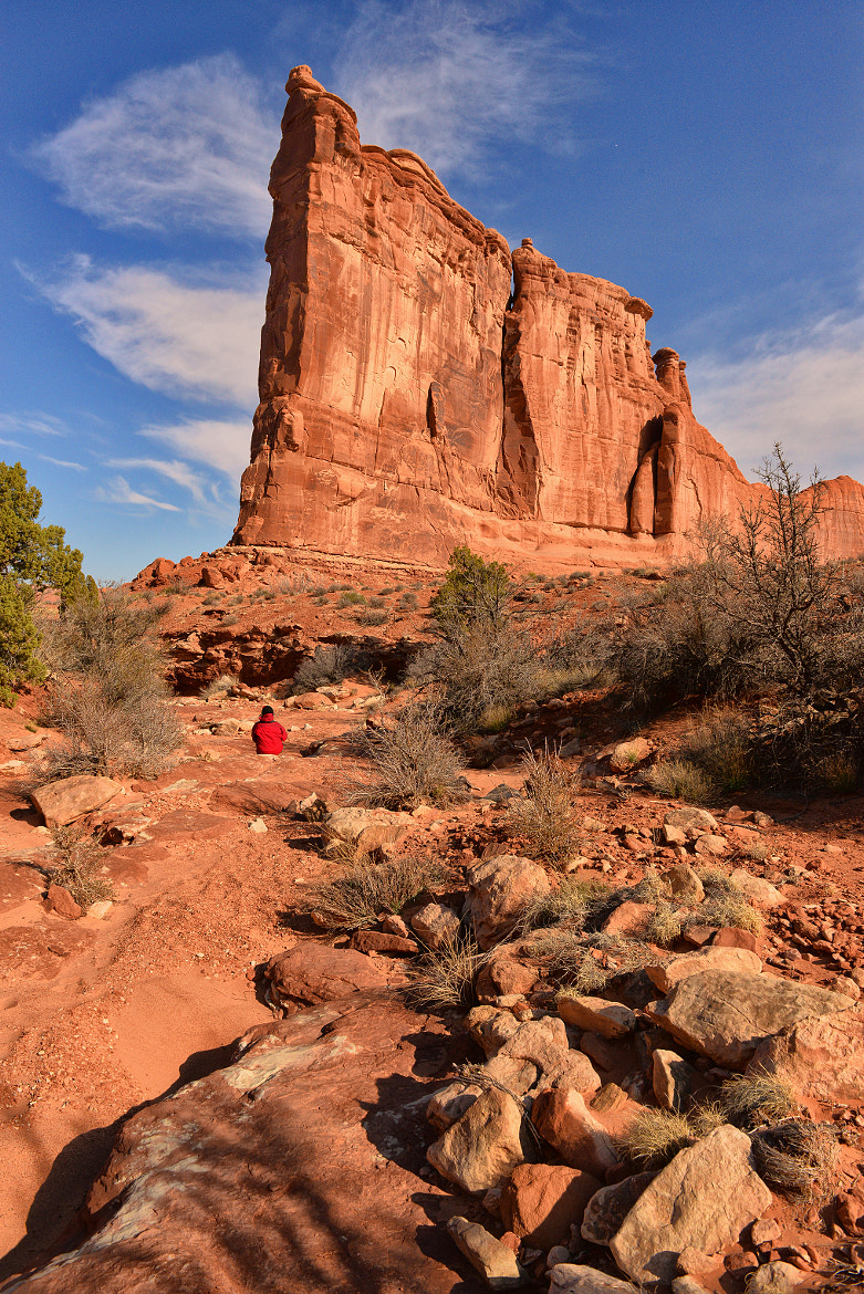 Photograph Alone in Arches by Jeff Clow on 500px