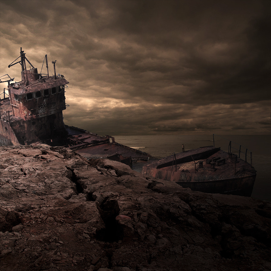 Photograph Wreckland by Tomasz  on 500px