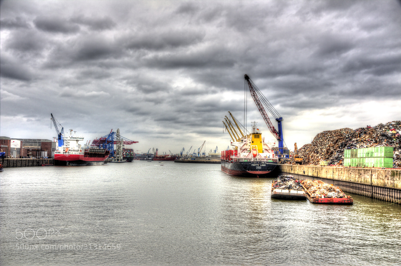 Photograph Port of Hamburg by Thomas Freundlich on 500px