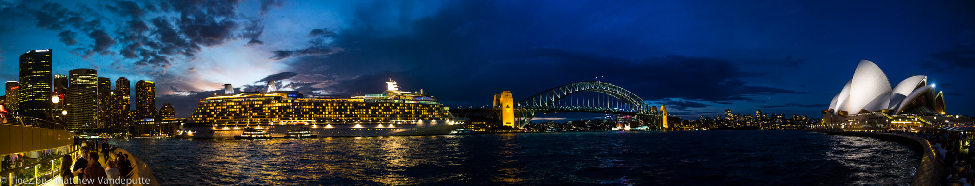 Photograph Sydney Circular Quay Panoramic by Matthew Vandeputte on 500px
