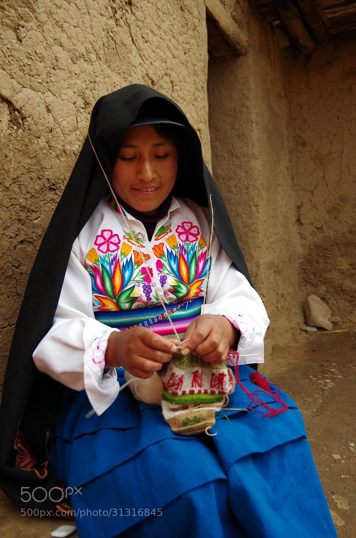 Photograph The Knitting Woman by Yen-Chun Lin on 500px